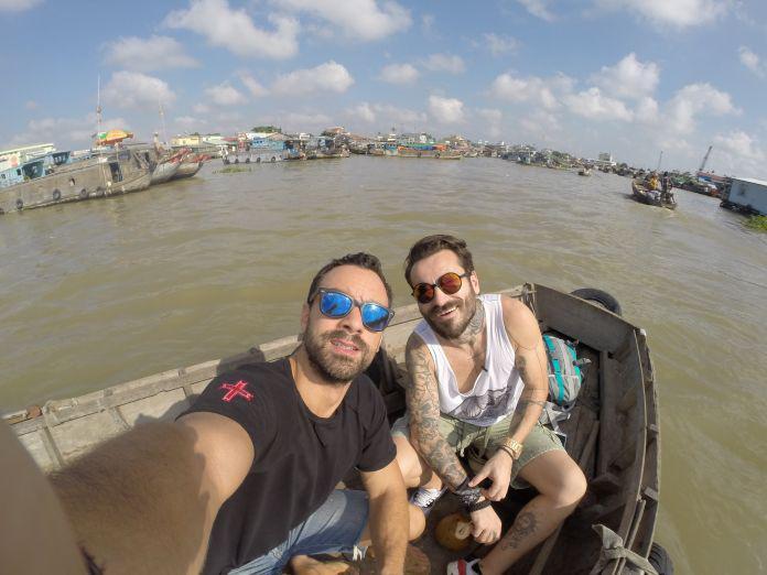 Βιετνάμ - Οι πλωτές αγορές είναι συνηθισμένο θέαμα στο Βιετνάμ